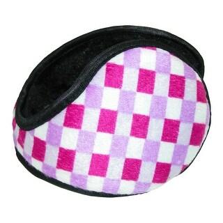 Grand Sierra Women's Checkered Wrap Around Earmuffs - One size