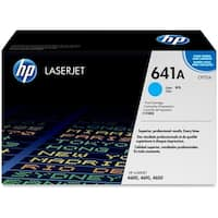 HP 641A Cyan Original LaserJet Toner Cartridge (C9721A) (Single Pack)