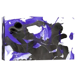 "PTM Images 9-103680  PTM Canvas Collection 8"" x 10"" - ""Nail Polish Abstract H"" Giclee Abstract Art Print on Canvas"