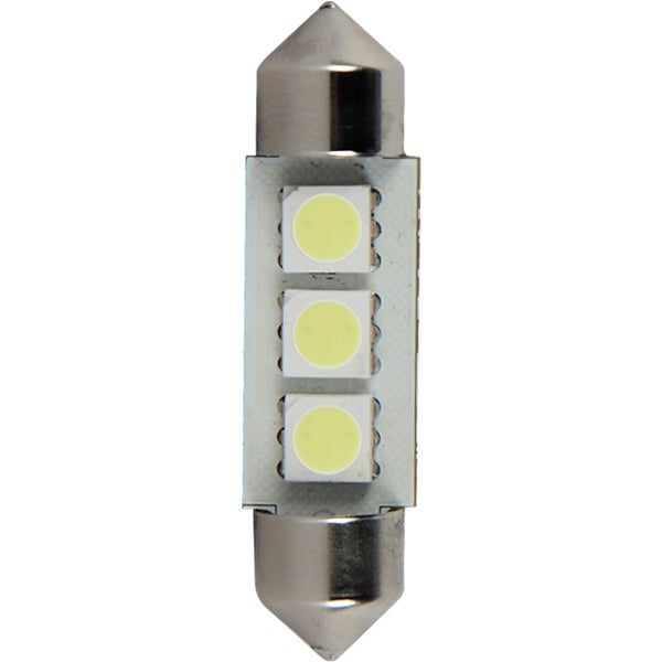 Pilot Automotive Super Bright Dome Light LED Bulb (3 LEDS Per Bulb)