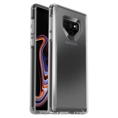 OtterBox Symmetry Clear Series Slim Case for Samsung Galaxy Note 9 (ONLY) - Clear