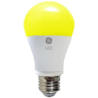 GE 92140 LED Outdoor Bug Light Bulb with Medium Base, 7-Watt, 400-Lumen
