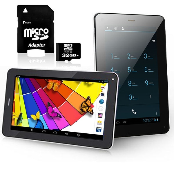 Indigi® Dual-Core 7.0inch Android 4.2 JellyBean 2-in-1 SmartPhone + TabletPC w/ Dual-Cameras + WiFi + 32gb microSD Included
