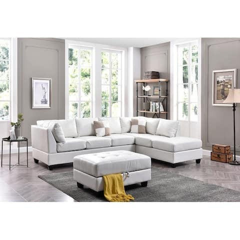 Malone Fabric Sectional Sofa