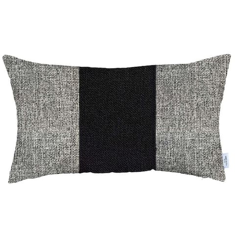 Boho-Chic Decorative Houndstooth Jacquard Pillow Covers