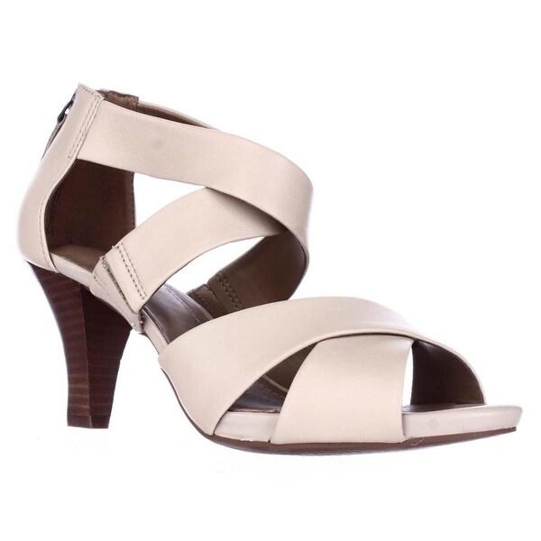 Clarks Florine Sashae Strappy Dress Sandals, Nude