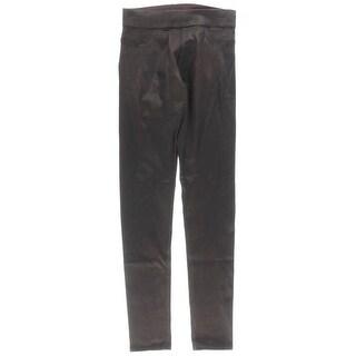 James Jeans Womens Metallic Textured Skinny Pants - 25