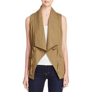 Sanctuary Womens Casual Vest Chevron Single Vent
