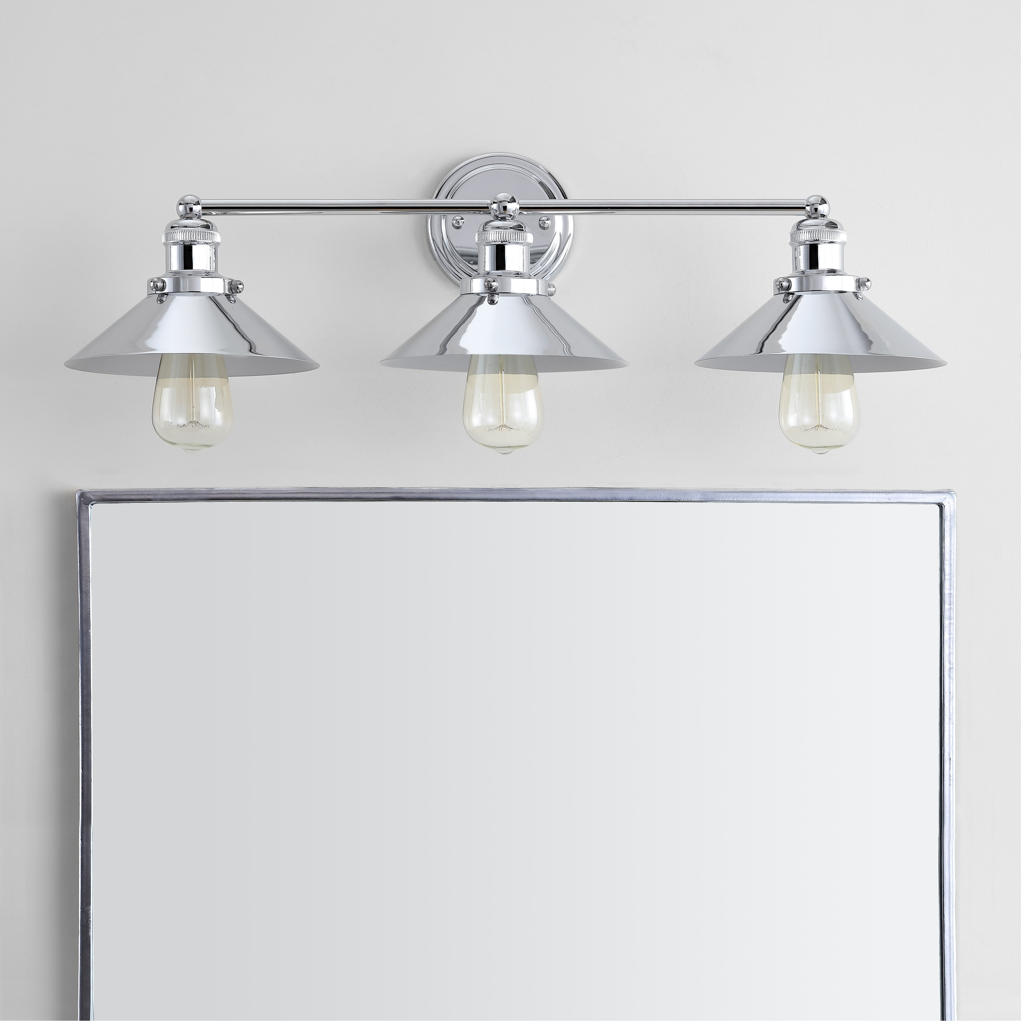 June 26 5 3 Light Metal Vanity Light Chrome By Jonathan Y Overstock 22848340