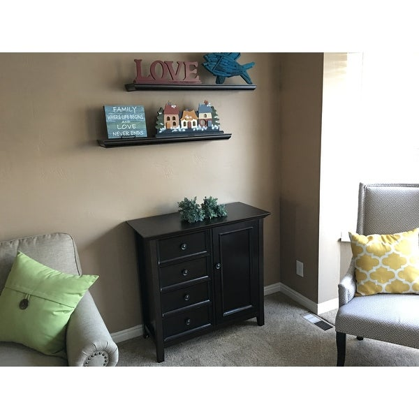 WYNDENHALL Halifax Medium Storage Media Cabinet And Buffet   Free Shipping  Today   Overstock.com   14926450