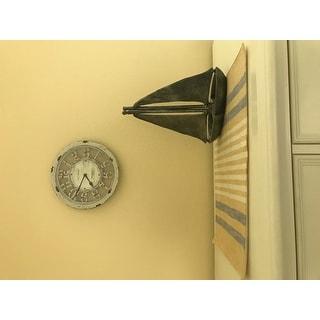 "FirsTime® Antique Contour Wall Clock - 10"""