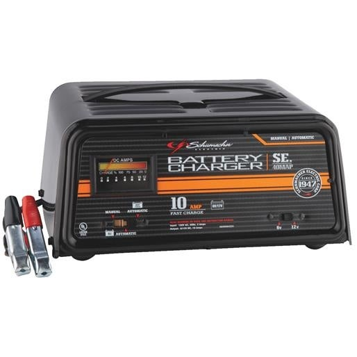 Schumacher Electric 10a Battery Charger Se 40map Unit Each Free Shipping Today 17504110