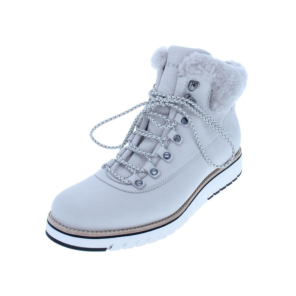 82dd0324a23 Shop Cole Haan Womens Grand Explorer Hiking Boots Nubuck Waterproof ...