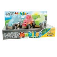 Fat Brain Toys Modmobiles Car Toys Mix & Match Set - multi