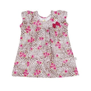 Baby Girl Dress Cheetah Print Infants Pulla Bulla Sizes 3-12 Months