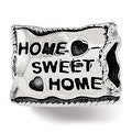 Sterling Silver Reflections Home Sweet Home Bead (4.5mm Diameter Hole) - Thumbnail 0