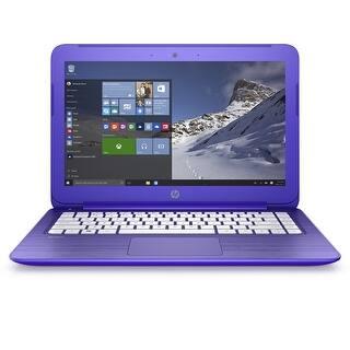 Manufacturer Refurbished - HP Stream 13-c120nr 13.3 Laptop Intel N3050 1.6GHz 2GB 32eMMC Windows 10|https://ak1.ostkcdn.com/images/products/is/images/direct/8f61c8c1a476da05ae5febf89be149aead6ab144/HP-Stream-13-c120nr-13.3-Laptop-Intel-N3050-1.6GHz-2GB-32eMMC-Windows-10.jpg?impolicy=medium