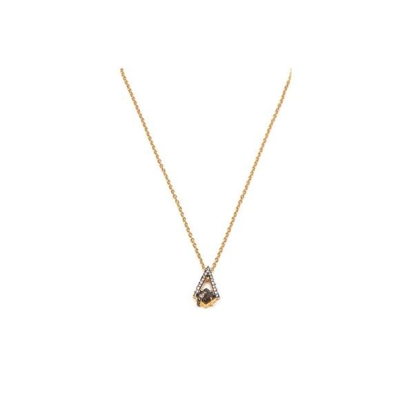 Pyramid Necklace in Labradorite