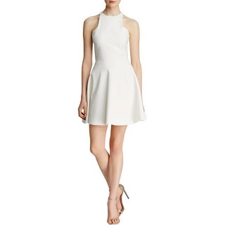Elizabeth and James Womens Mini Dress Halter Ponte - 4
