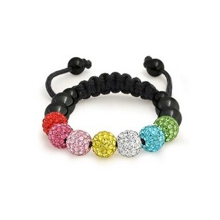 Bling Jewelry Multicolor Crystal Childrens Inspired Bracelet