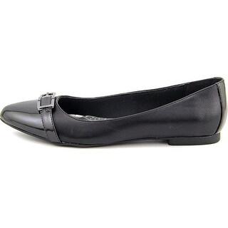 Karen Scott Womens CADYY Pointed Toe Slide Flats
