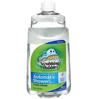 Scrubbing Bubbles 23338 Automatic Shower Cleaner Refill, Original Scent, 34 Oz