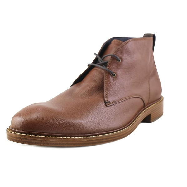 3132f5592 Cole Haan Kennedy Grand ChkaII Men Round Toe Leather Brown Chukka Boot