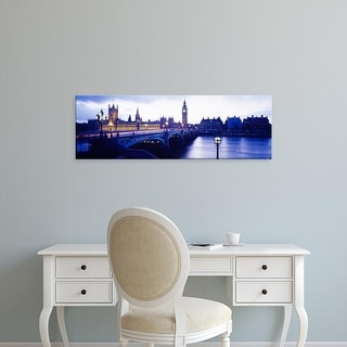 Easy Art Prints Panoramic Images's 'London, England, United Kingdom' Premium Canvas Art
