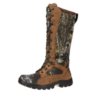 "Rocky Outdoor Boots Mens 16"" ProLight WP Snake Mossy Oak FQ0001570"
