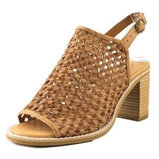 Sbicca Vanda Women  Open Toe Leather Tan Sandals