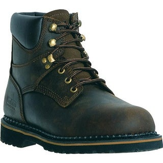 "McRae Industrial Men's 6"" Lacer MR86144 Dark Brown"