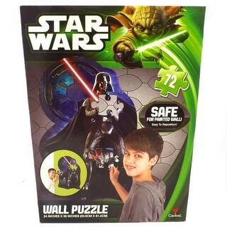 Star Wars 72 Piece Darth Vader Wall Puzzle