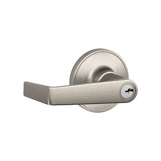 Schlage J54-MAR Marin Single Cylinder Keyed Entry Leverset from the J-Series (Formerly Dexter)