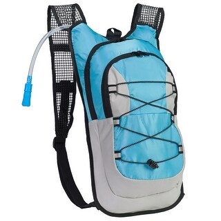 Equipped Outdoors Survival Hydration Pack - 2L Water Bladder