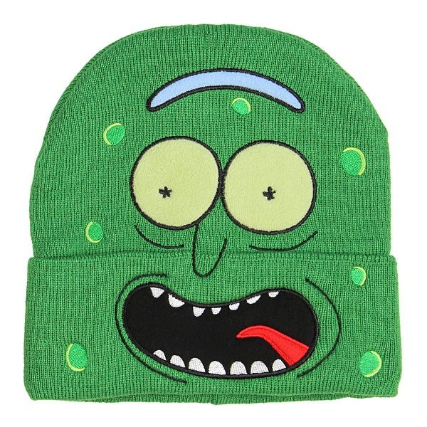 a960f803a890 Shop Bioworld Rick and Morty I'm Pickle Rick Hat Beanie - Free Shipping On  Orders Over $45 - Overstock - 22800042
