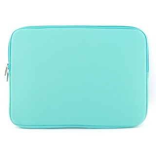 Unique Bargains Shockproof Notebook Laptop Sleeve Bag for Macbook Turquoise
