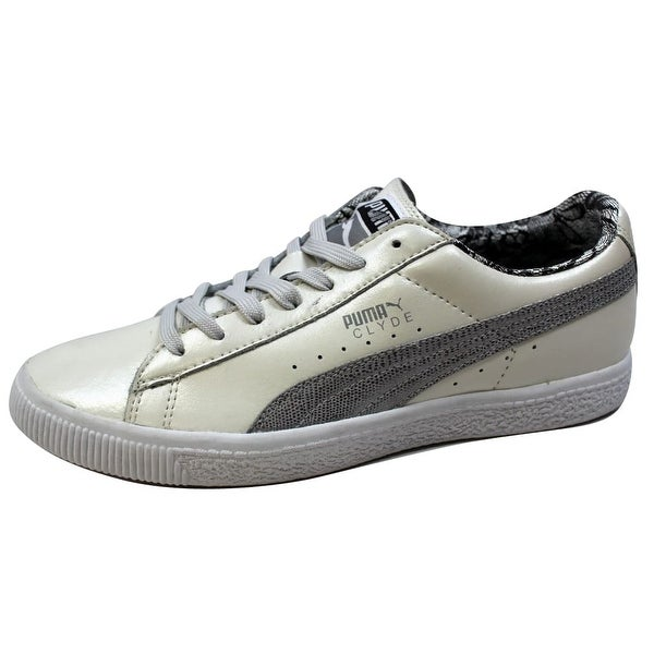 Puma Women's Clyde Pearl Vaporous Gray/Gray Violet 347889 03 Size 9