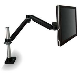 3M Easy Adjust Monitor Arm 3M Mounting Arm for Flat Panel Display - 20 lb Load Capacity - Black