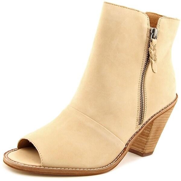 Corso Como Tameka Women Peep-Toe Leather Ankle Boot