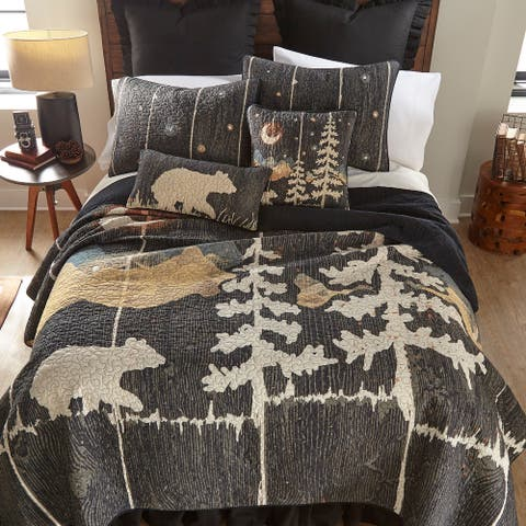 Donna Sharp Moonlit Bear Quilt Set