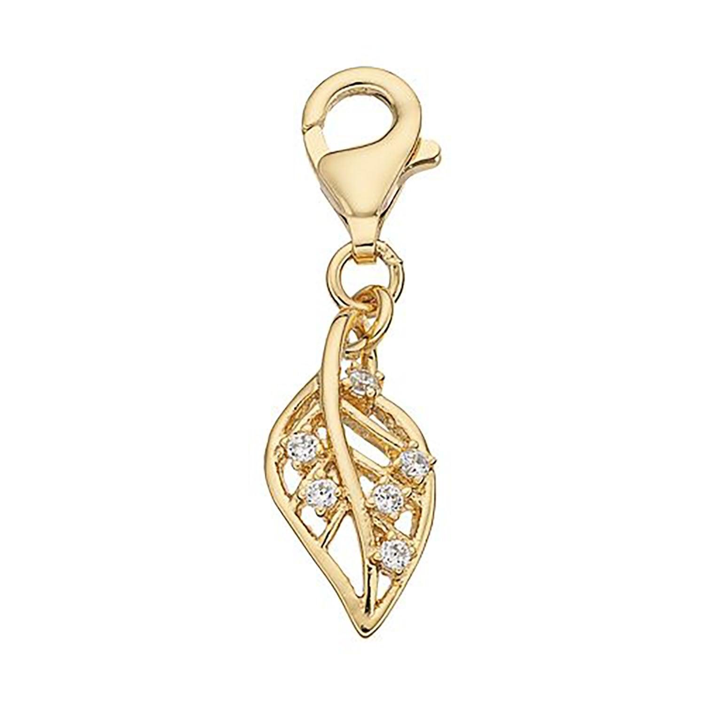 Julieta Jewelry Leaf Clip-On Charm - Thumbnail 0