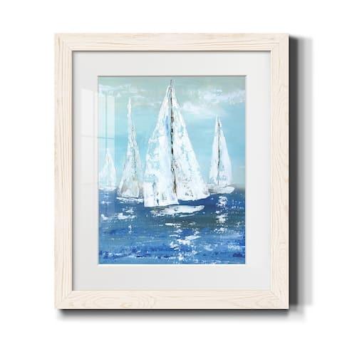 White Sails-Premium Framed Print - Ready to Hang