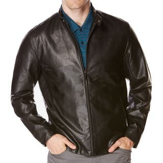 Perry Ellis NEW Dark Brown Mens Size Large L Faux-Leather Bomber Jacket|https://ak1.ostkcdn.com/images/products/is/images/direct/8f6df942f985f4609489502dccc3c671a6da6df9/Perry-Ellis-NEW-Dark-Brown-Mens-Size-Large-L-Faux-Leather-Bomber-Jacket.jpg?impolicy=medium