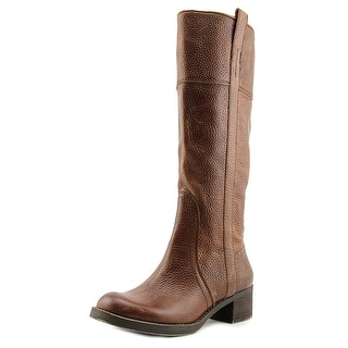 Lucky Brand Hibiscus Wide Calf Women Round Toe Leather Knee High Boot