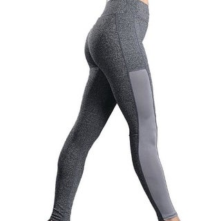 Link to High Waist Out Pocket Yoga Pants Workout Running 4 Way Stretch Yoga Leggings Black Similar Items in Athletic Clothing