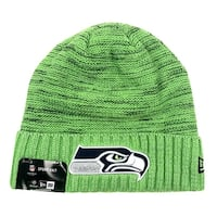 New Era Seattle Seahawks Knit Beanie Cap Hat NFL 2017 Color Rush 11461022