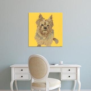Easy Art Prints June Erica Vess's 'Buster' Premium Canvas Art