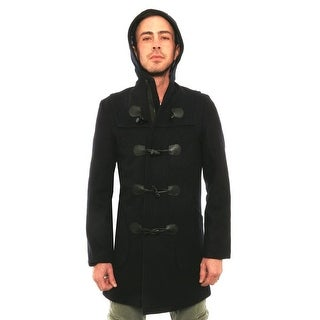 Schott N.Y.C  Hooded Toggle Coat Basic Coat NY1