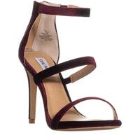 Steve Madden Feelya Ankle Strap Sandals, Burgundy - 7.5 us