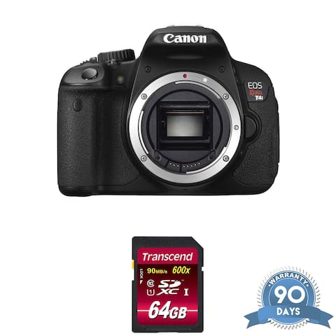 Canon EOS Rebel T4i Digital Camera (Body Only) - with Memory Card -